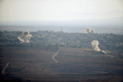 Армия обороны Израиля ответила на обстрел со стороны Сирии