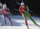 Домрачева выиграла масс-старт на ЧМ по биатлону