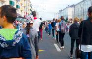 В Витебске школьников согнали на репетицию парада