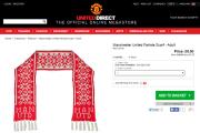 «Манчестер Юнайтед» продает шарфы с белорусской символикой