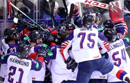 Британские хоккеисты выиграли первый за 57 лет матч в высшем дивизионе ЧМ