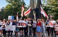 По Вильнюсу пронесут полукилометровый бело-красно-белый флаг