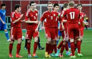 В рейтинге ФИФА сборная Беларуси поднялась на три позиции