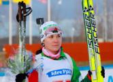Скардино пришла 15-ой в гонке преследования на ЧМ по биатлону