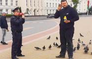 Видеофакт: противник завода АКБ потроллил милиционера в Бресте