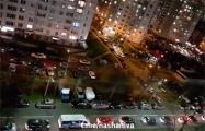 В Минске авто сигналят в память об убитом Романе Бондаренко