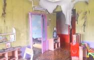 В Заславле горел детский сад