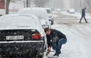 Белорусы делятся позитивными видео о снегопаде и холодах