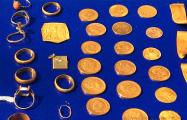 Что известно о золотом кладе, который нашли в центре Гродно
