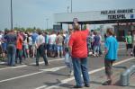 Протест на границе