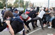 Как белорусский ОМОН по приказу Лукашенко избивал будущее нации