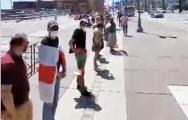 Белорусские протесты поддержали в Калифорнии