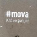 Фотофакт: Цитата Богушевича - на минских тротуарах
