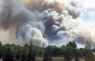 Пожар в Столинском районе занял уже 400 га, его тушат с вертолетов
