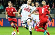 Люксембург — Беларусь: туман над стадионом практически рассеялся