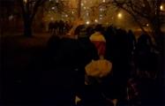 Жители Юго-Запада вышли на вечерний марш