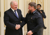 Лукашенко вручил Кадырову орден