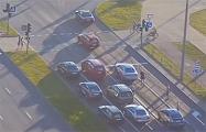 В Бресте водитель такси и четверо его пассажиров напали на автомобиль