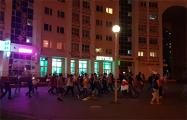 Народные гуляния в Серебрянке продолжались до позднего вечера