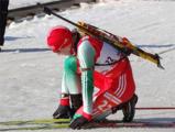 Дарья Домрачева победила в гонке преследования