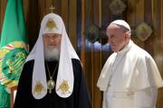 Встречу папы и патриарха два года назад отменили из-за событий на Украине