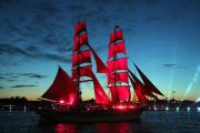 Рекордное число зрителей посмотрело трансляцию праздника «Алые паруса»