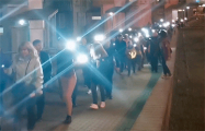 Жители минского Запада вышли на массовое шествие