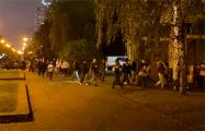 Микрорайон Восток идет многолюдным маршем по Минску