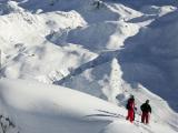 Лыжники без лыж