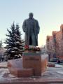 В Минске состоялось возложение цветов к памятнику Ленину