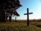 В Куропатах сломали 36 крестов