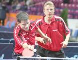 Три представителя Беларуси выступят на открытом чемпионате Польши по настольному теннису