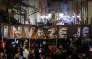 «Мы не Россия»: тысячи чехов вышли на акцию протеста в Праге