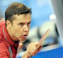 Белорус Владимир Самсонов вышел в финал открытого чемпионата Польши по настольному теннису