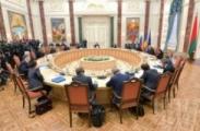 Переговоры президентов в Минске длились около 4 часов