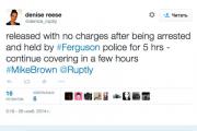 Полиция Фергюсона отпустила продюсера подразделения Russia Today