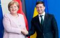 Зеленский и Меркель обменялись приглашениями посетить Киев и Берлин