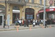 """Более 50 художников представили свои картины на выставке """"Арт-крок"""" в Минске"""
