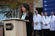 Заразившаяся Эболой американская медсестра вылечилась