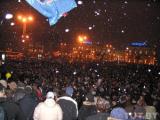 Первый снег затормозил движение в Минске