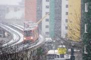 Сильные морозы вызывают сбои в работе общественного транспорта
