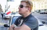 Милиция не отдает активисту машину, изъятую за бело-красно-белый флаг
