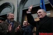 Пикет у Центризбиркома: Дайте слово Санникову и Некляеву! (Фото)
