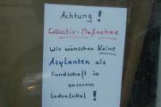 Беженцам запретили входить в баварский магазин