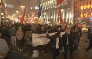 Сотрудники милиции в штатском напали на Евгения Афнагеля и прервали трансляцию с акции в Минске