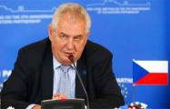 Президент Чехии предлагает укрепить границы ЕС
