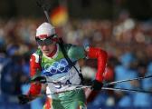 Дарья Домрачева стала бронзовым призеромгонки преследования на этапе Кубка мира по биатлону