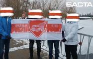 Минская Щетовка вышла на бело-красно-белую прогулку