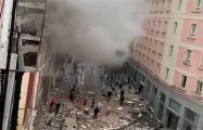 Видеофакт: В центре Мадрида произошел мощный взрыв
