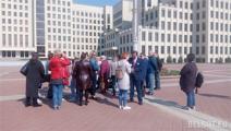 «Матери-328» вышли на площадь Независимости в Минске